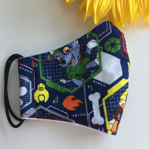 Kids Face Mask Paw Patrol Print Ages 2-6
